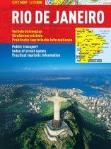 Rio de Janeiro - harta turistica pliabila