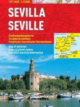 Sevilla - harta turistica pliabila