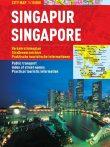 Singapore -hartă turistică pliabilă