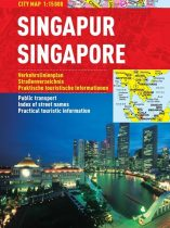 Singapore - harta turistica pliabila