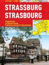 Strasbourg - harta turistica pliabila
