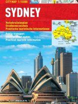 Sydney - harta turistica pliabila