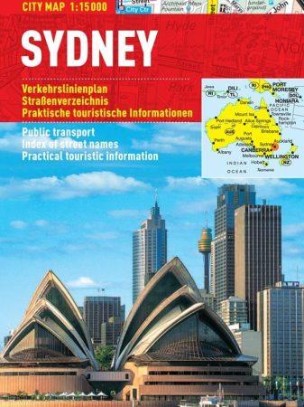 Sydney - hartă turistică pliabilă