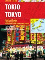 Tokio - harta turistica pliabila