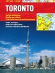 Toronto - hartă turistică pliabilă