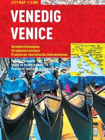 Veneția -hartă turistică pliabilă