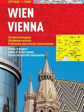 Viena - hartă turistică pliabilă