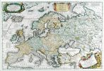 Mapa de birou - Europa Antica