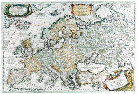 Hartă de birou - Europa Antică