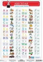 FIXI - Alfabetul Roman (verso - liniatura tip 1)