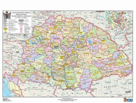 A Magyar Szent Korona országai + vármegyecímerek tanulói munkalap- Țările Regatului Ungariei+ stemele județelor fișă de lucru