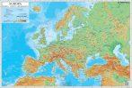 Hartă de birou - Europa Fizico-Geografică