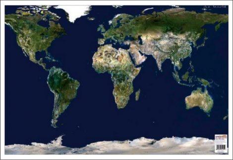 Mapa de birou - Lumea Imagine din satelit