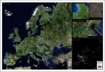 Mapa de birou - Europa - Imagine din satelit