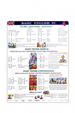 Basic English V - plansa de perete