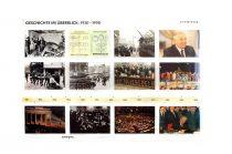 Evenimente cronologice 1930- 1990 -planșă de perete (în limba germană)