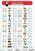 Alfabetul cu liniatură tip 1 DUO - planșă de perete