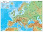 Harta de perete Europa Fizico-Geografica 160x120 cm