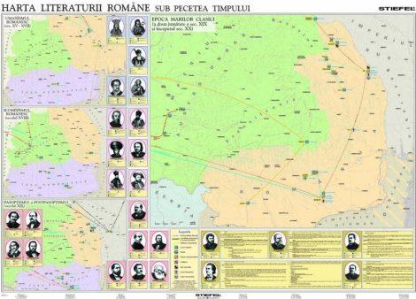 Harta Literaturii Romane sub pecetea timpului - Duo
